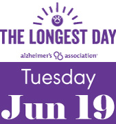The Longest Day, Tuesday, June 19, 2018 to benefit the Alzheimer Association